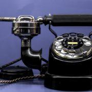 fancy rotary telephone